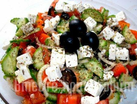 Рецепты греческих салатов с фото