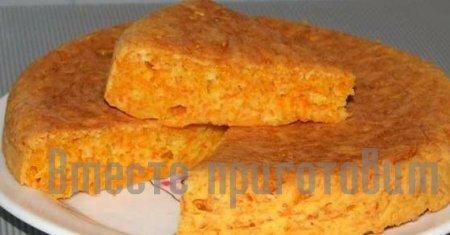 Пирог морковный