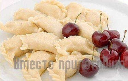 Как сделать вишневого вареники
