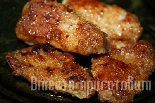 Жаренная свинина рецепт фото