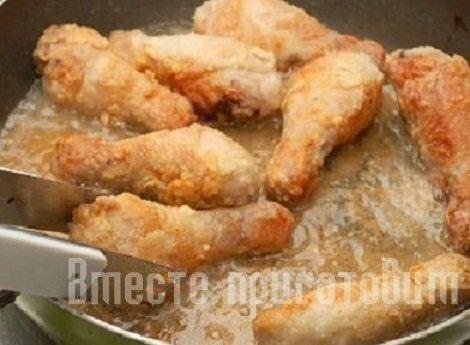 Жареные ножки на сковороде рецепт с фото