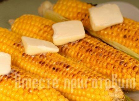 Жареная кукуруза рецепт фото