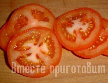 Цукини запечённое с помидоркой
