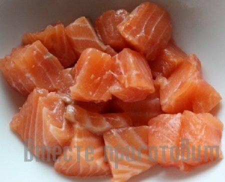 Салат рыбный с икоркой