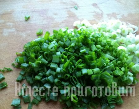 Салат с сёмгой и овощами